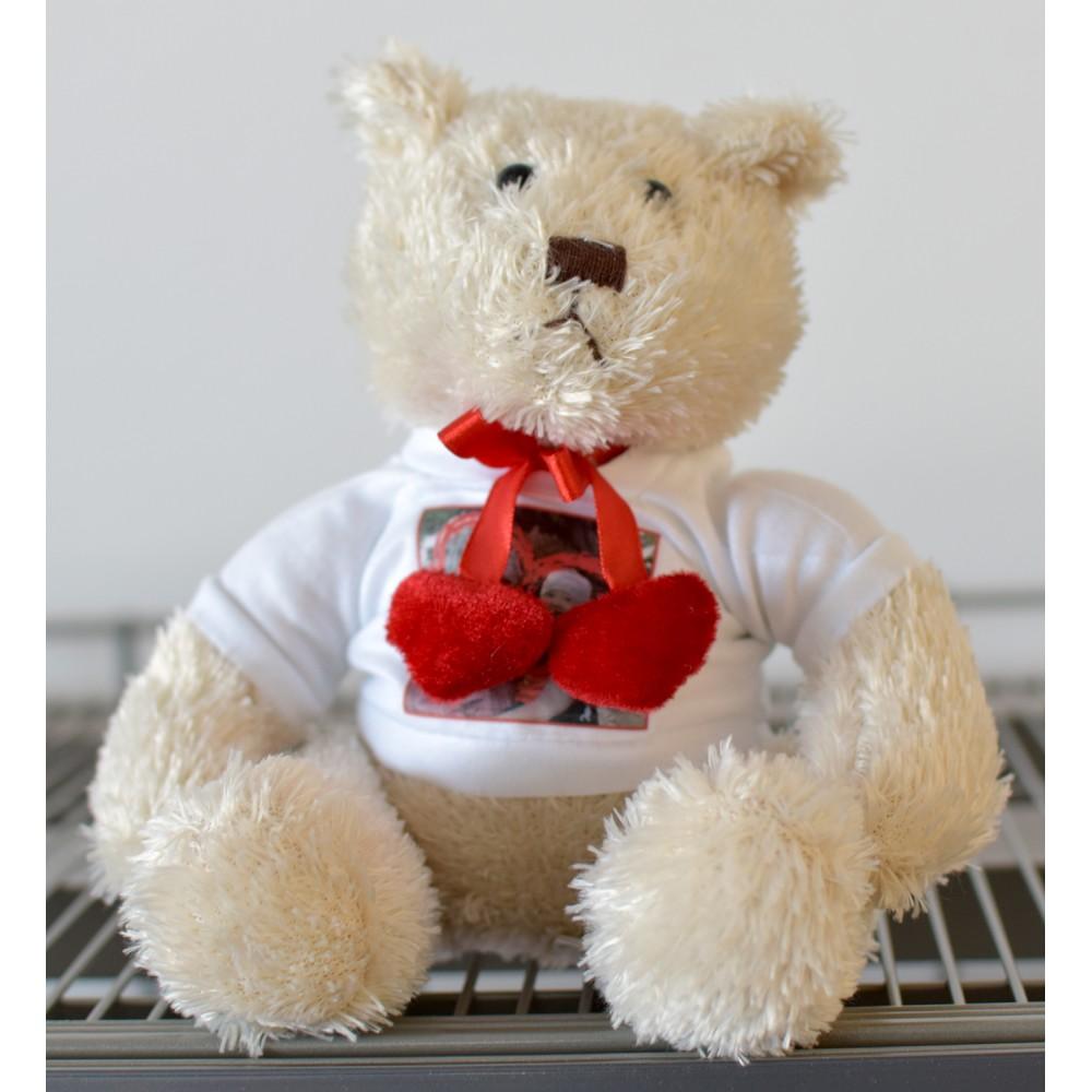 Teddybär mit Aufdruck