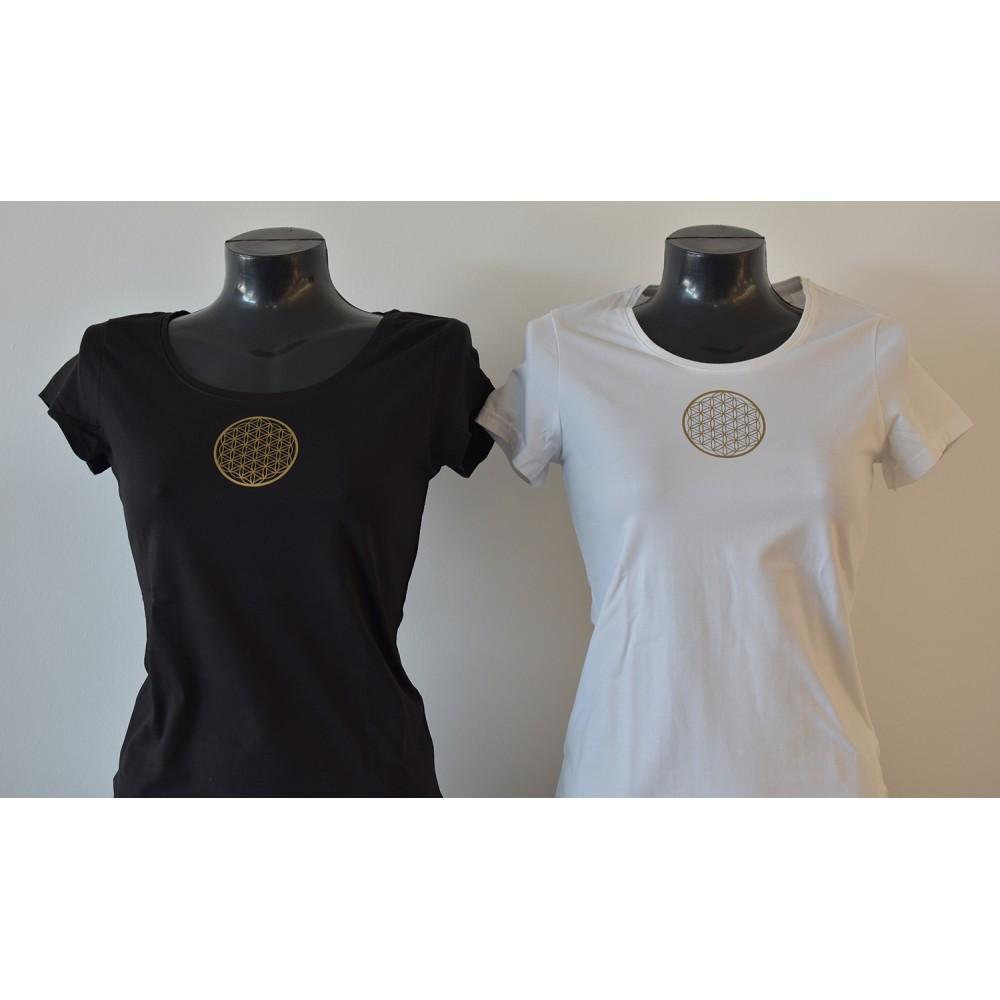 Damen T-Shirt Flexaufdruck