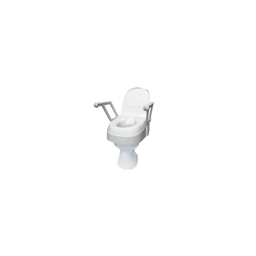 Toilettensitzerhöung höhenverstellbar mit Armlehne
